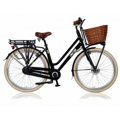 E-Motion Cargo D50cm 28 inch E-bike Black 3SP