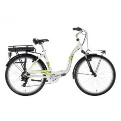 E-Motion Elba Sport D47cm 26 inch E-bike White/Green