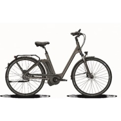 Raleigh New Gate Premium DN8 17 inch E-bike Carbon Grey Hydro DiscB