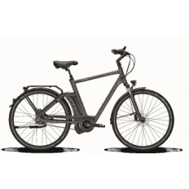 Raleigh New Gate Premium HN8 19 inch E-bike Carbon Grey Hydro DiscB