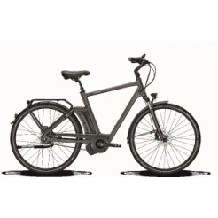 Raleigh New Gate Premium HN8 23 inch E-bike Carbon Grey Hydro DiscB