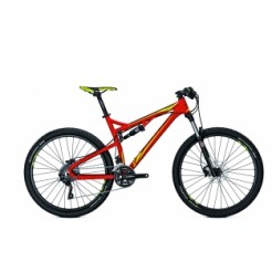Univega Renegade 8.0 27.5 inch E-bike Red/Green