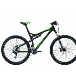 Univega Renegade Expert 27.5 inch E-bike Black/Green