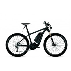 Univega Vision Impulse S 4.0 17 inch E-bike Magic Black/Grey Matt